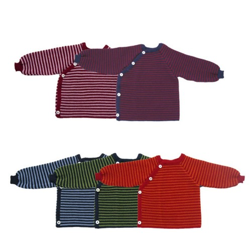 Baby Jumper with Button Tape made of Organic Cotton | Reiff