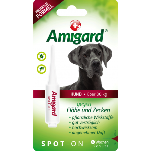 Amigard Spot-On for large Dogs natural pest control, 1 x 6ml