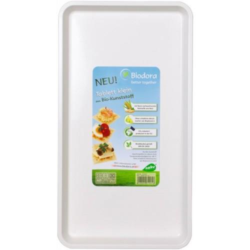 Medium-sized Tray made of bioplastics   Biodora
