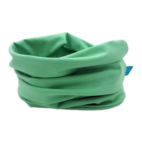 Unisex Loop Scarf organic cotton light green | bingabonga
