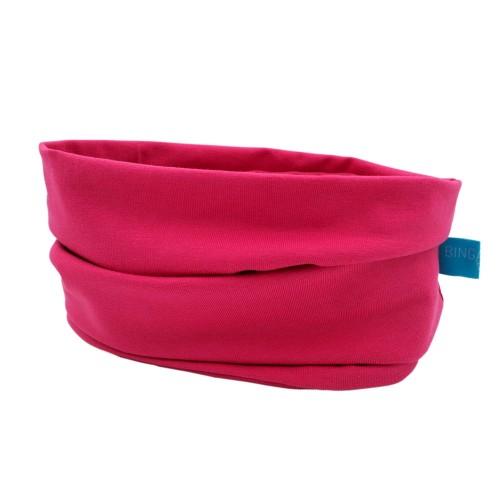 Unisex Loop Scarf organic cotton pink | bingabonga