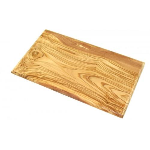 Olive Wood Cutting Board 25x15 cm, bevelled edges | Olivenholz erleben