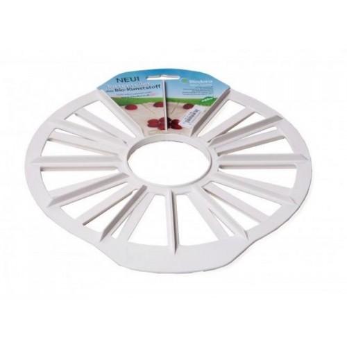 Cake divider round 12/16 from bioplastics Biodora