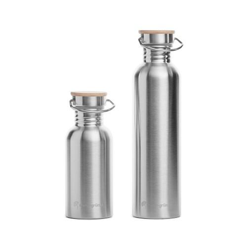 more-green Drinking Bottle Stainless Steel » mehr gruen
