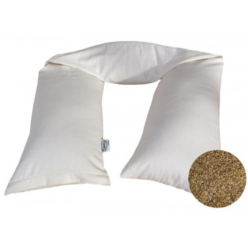 Breastfeeding Pillow with organic spelt husks