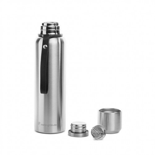 Double Walled Thermo Flask Stainless Steel » mehr gruen