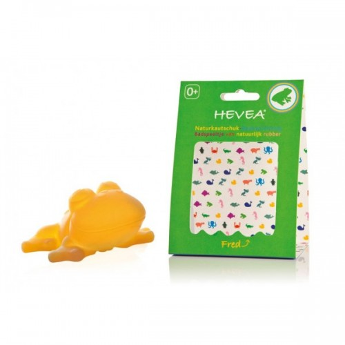 Hevea Bath Toy – Frog Fred – natural rubber