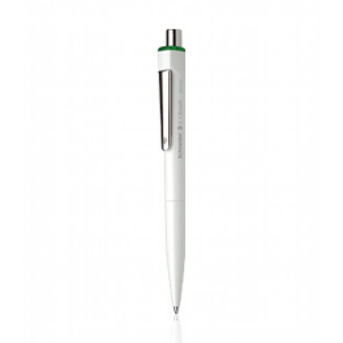 Ballpoint pen with barrel made of bioplastics