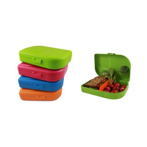 Nana Lunchbox mandarin - lime - blue - pink