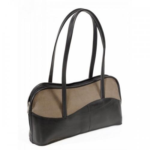 Isabelle Handbag | Upcycling | khaki