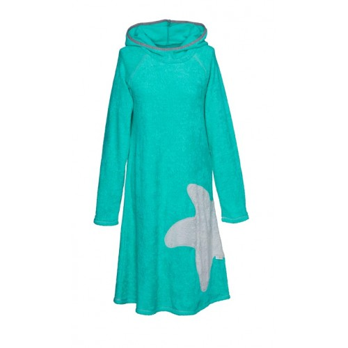 Terry dress Sea green