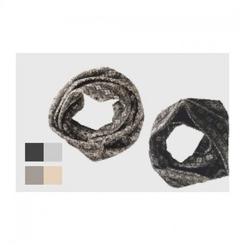 Round Scarf Kristall | Kerchief | merino wool