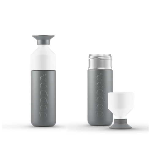 Dopper Insulated Bottle Glacier Grey stainless steel flask