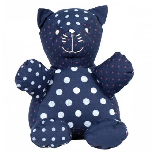 Stuffed toy | Bertrand the cat in organic cotton