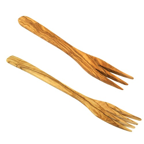 Sustainable Olive Wood Fork | Olivenholz erleben