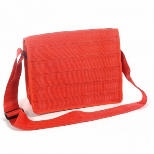 Dominique | red small messenger bag