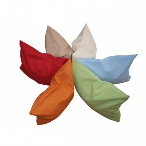 Organic Cotton Pillowcase for Side Sleeper Pillow in various Colours