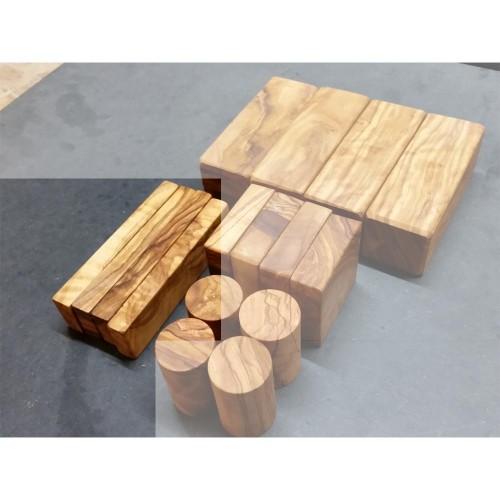 D.O.M. individual Wooden Building Block re-order 2.8 x 1.4 x 11 cm