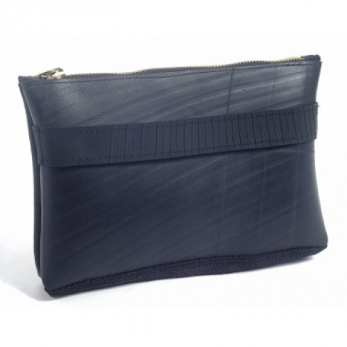Cosmetic Bag from recycled inner tube