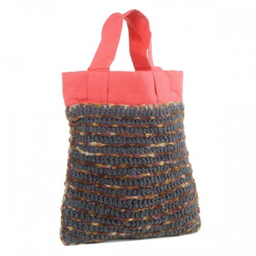Upcycling Shopping Bag Anjali | Wool and Cotton