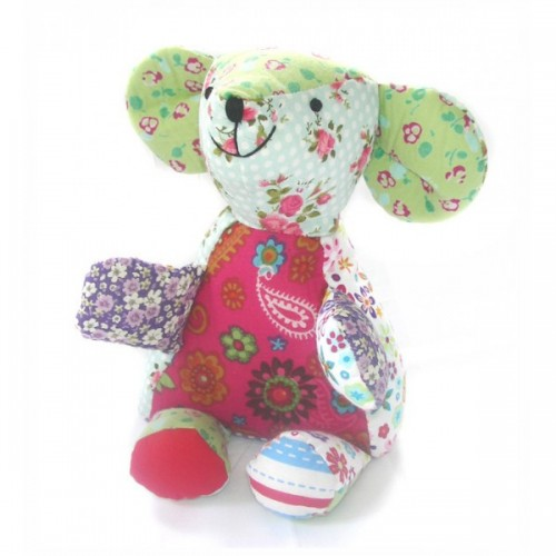 Stuffed toy   Emilie the mouse made of cotton