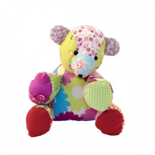 Stuffed toy   Hugo the bear made of cotton