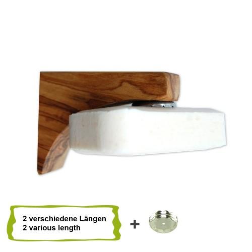 Olive Wood Magnetic Soap Holder PONTE - D.O.M.