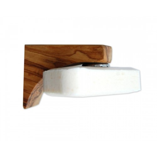 Olive Wood Magnetic Soap Holder PONTE | Olivenholz erleben