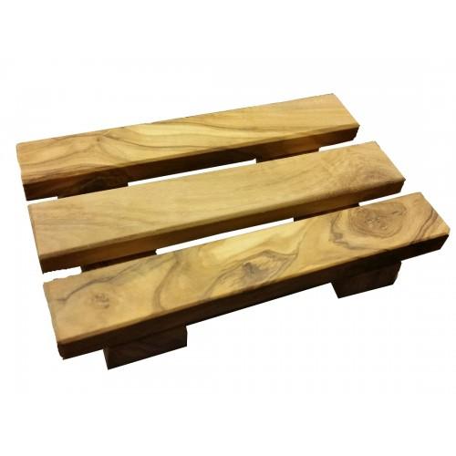 Soap Tray »Palett« made of Olive Wood | Olivenholz erleben