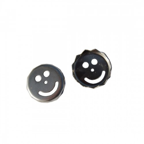 2 x spare metal plates SMILE for magnetic soap holder | D.O.M.