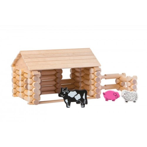 VARIS Farm 77 – wooden farm set with animals