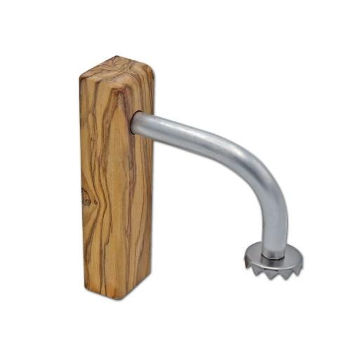 Magnetic Soap Holder FELIX - Olive Wood & Aluminium | D.O.M.
