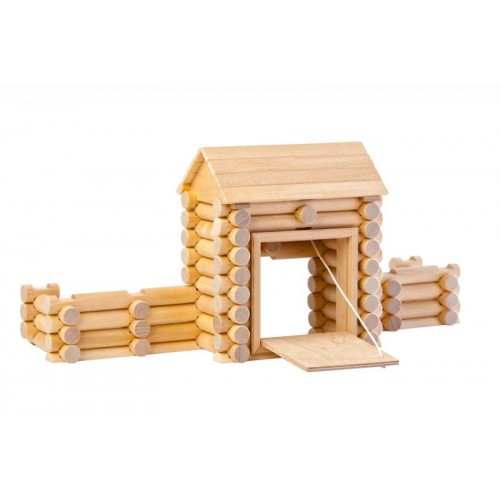 VARIS Fort 80 – wooden building set