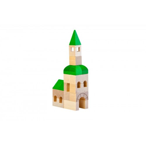 VARIS Architect 25 – wooden toy church
