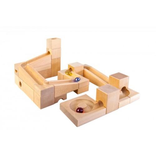 VARIS Marble Run Basic Set – wooden toy