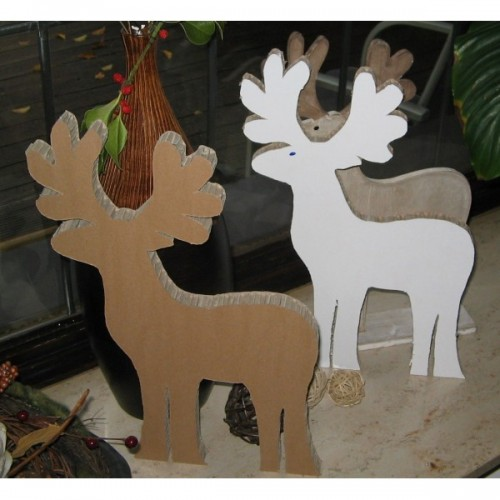 Bruno, the stag 2-part-set – Cardboard Animals