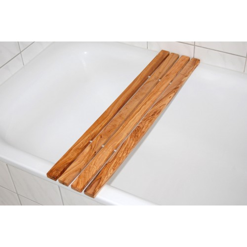 "Bathtub Tray ""classic"" made of Olive Wood 