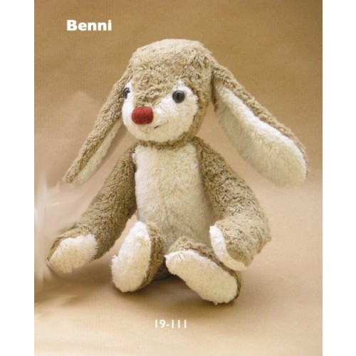Bunny Benni made of organic cotton from Kallisto