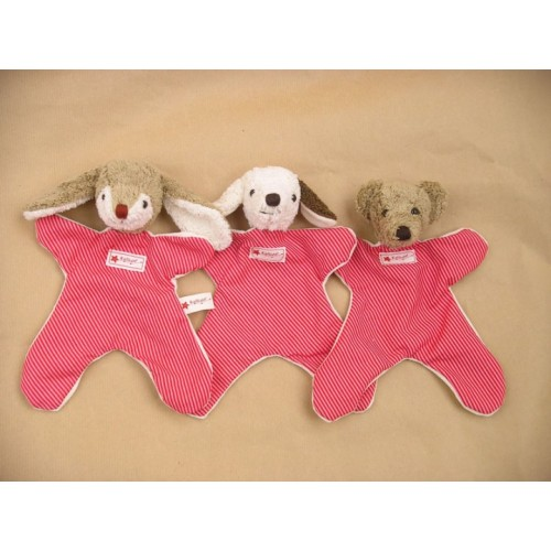 Cuddly Cloth Rabbit, Dog, Bear Organic Cotton