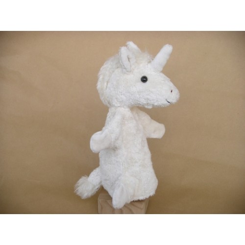 Glove Puppet Unicorn made of Organic Cotton | Kallisto