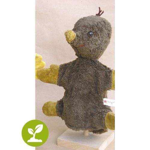 Vegan Mole Hand Puppet by Kallisto