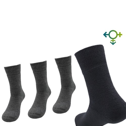 Alpaca Soft Socks, Plain Unisex Wool Socks | AlpacaOne