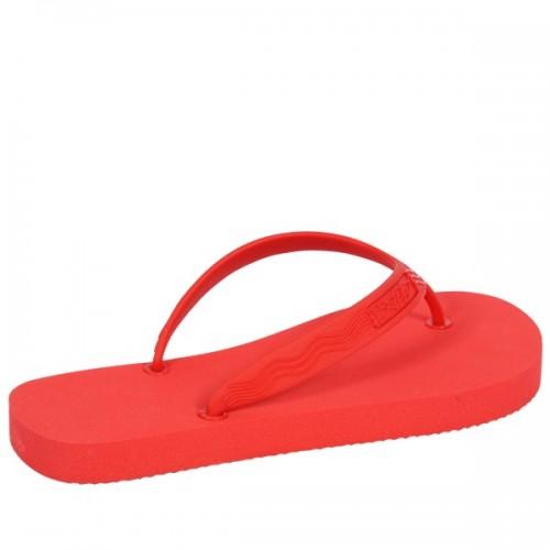 Eco Flip-flops - thongs of bioplastics - rosso | Goganics