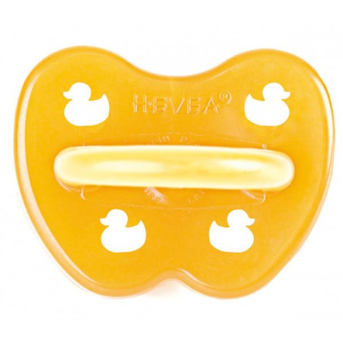Baby soother duck – pacifier of natural rubber | Hevea