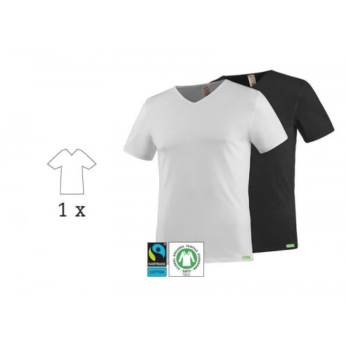 SoulShirt Men Eco T-Shirt, V-Neck, 1 Pack | kleiderhelden