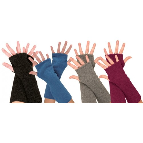 Eco Fleece Armwarmers - eco merino virgin wool fleece | Reiff
