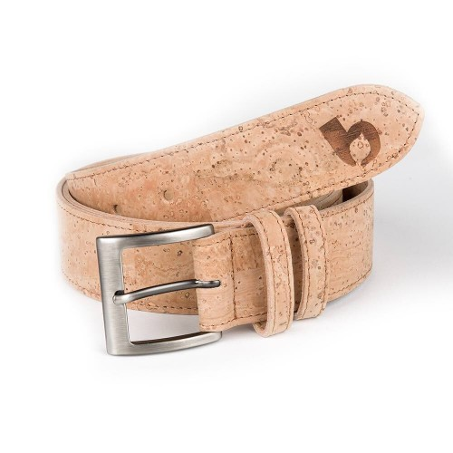 Cork Belt - leather free belt | bleed