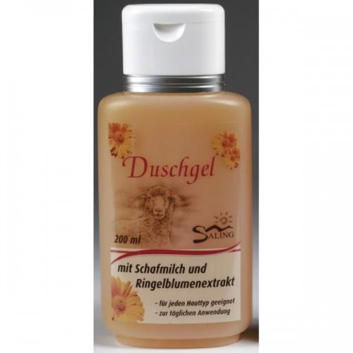 Shower Gel Calendula with mit sheep milk – Saling