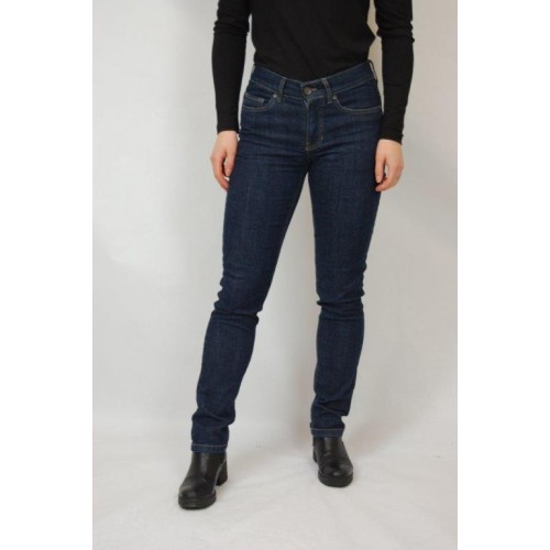 Dark Blue Organic Cotton Stretch Skinny Jeans ALINA » bloomers