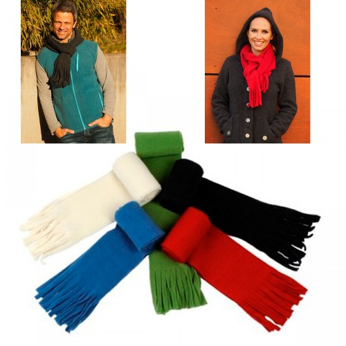 Unisex Fleece Scarf made of Eco Wool | Reiff